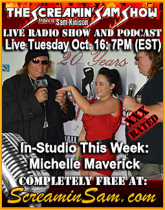 Michelle Maverick on The Screamin' Sam Show