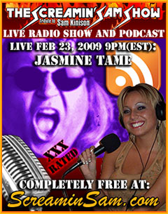 Jasmine Tame Live On Screamin Sam Poster